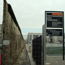 Gestapo Headquarters and the Berlin Wall