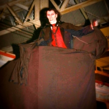 Count Dracula appears.