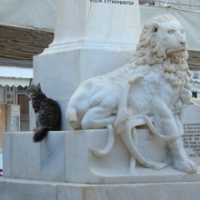 The Lion and the pussy cat.