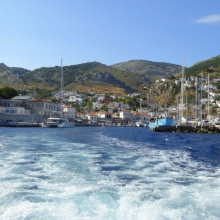 On Leaving Hydra for the mainland