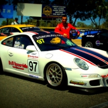 Tony Ricciardello and his Porsche 997 (GT4 Spec)