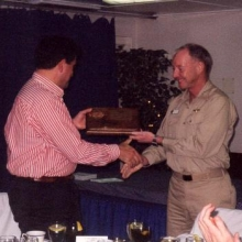 Exchanging gifts from the Oz navy to the USA navy