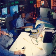 The Operations Room under the flight deck