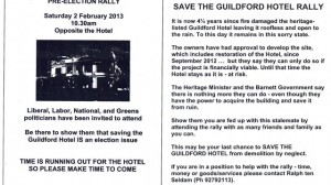 2013-01-17 Save Guildford Hotel Flyer 2