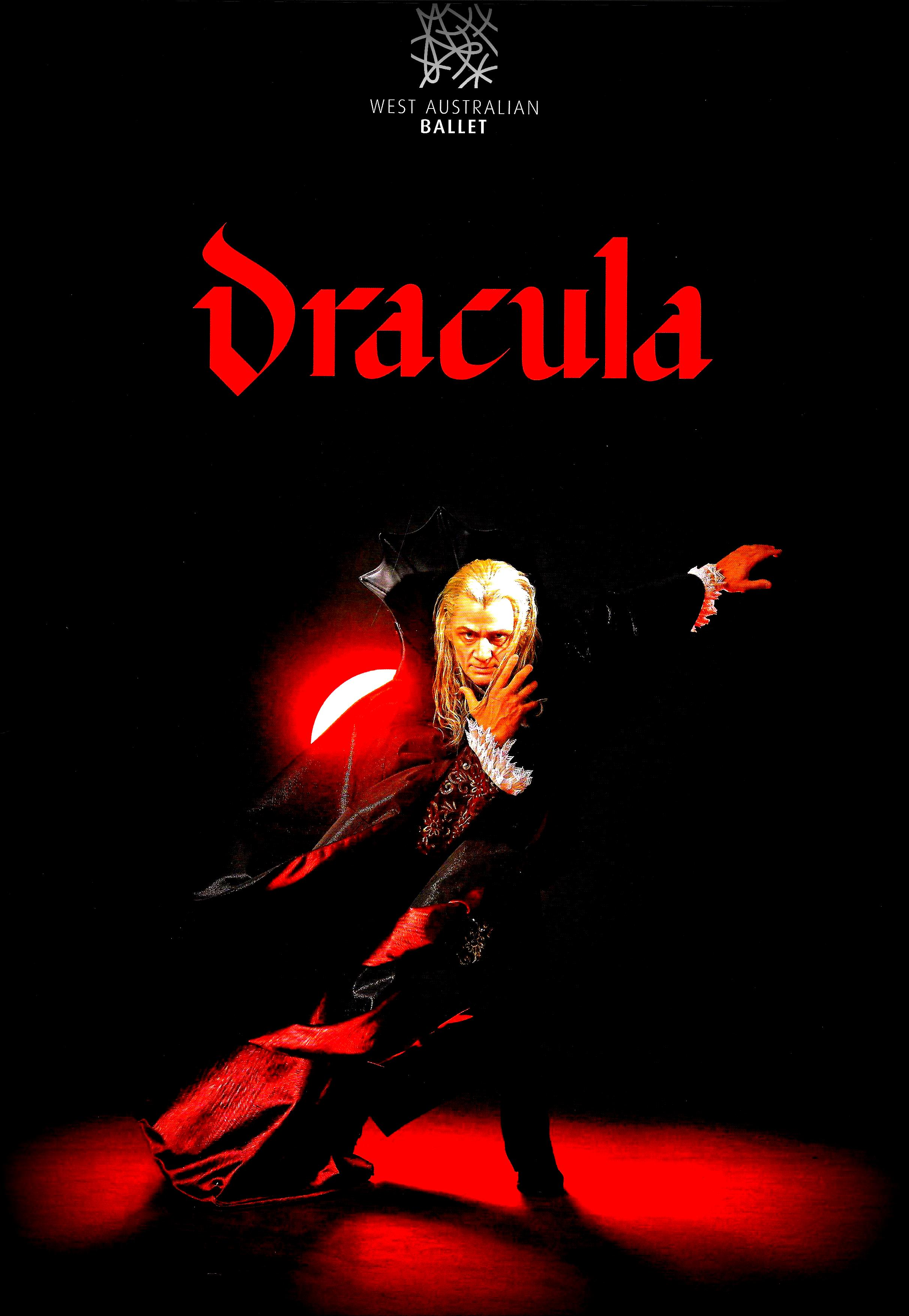Dracula Programme Cover